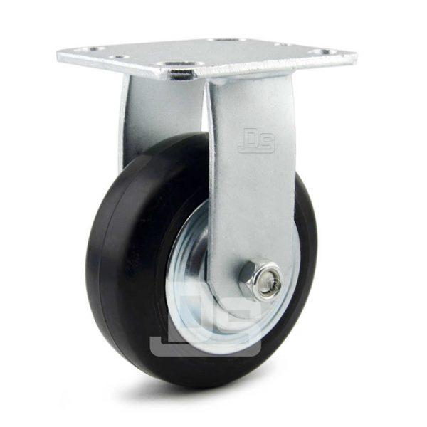 Heavy-Duty-Advanced-Rubber-Cast-Iron-Rigid-Caster-Wheels-1