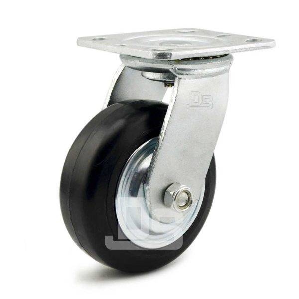 Heavy-Duty-Advanced-Rubber-Cast-Iron-Swivel-Caster-Wheels-1