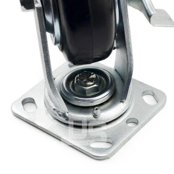 Heavy-Duty-Advanced-Rubber-Cast-Iron-Swivel-Caster-Wheels-with-Side-Lock-Brake-5