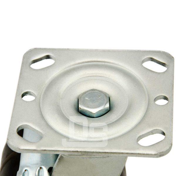 Heavy-Duty-Phenolic-150℃-Swivel-Caster-Wheels-with-Side-Lock-Brake-5