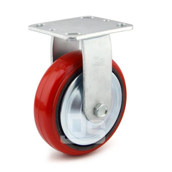 Heavy-Duty-Polyurethane-Rigid-Iron-Core-Caster-wheels-1