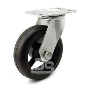 Heavy-Duty-Rubber-Cast-Iron-Swivel-Caster-wheels-1