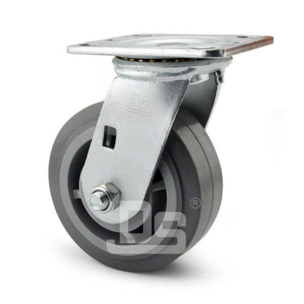 Heavy-Duty-TPE-Swivel-Plastic-Wheels-3