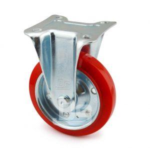 Medium-Duty-Polyurethane-Tread-Splint-Core-Rigid-Caster-Wheels-2