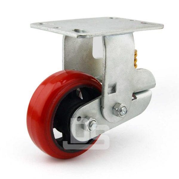 Spring-Shock-Absorbing-Polyurethane-Cast-Iron-Rigid-Caster-Wheels-3